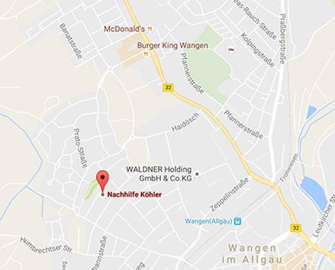 adresse-karte-nachhilfe-koehler-in-wangen